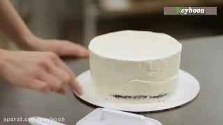 روکش کیک با خمیر فوندانت