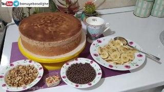 ساده ترین روش تزیین کیک تولد در خانه