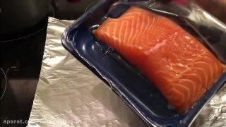 ساده وسریع ماهی سالمون در فر