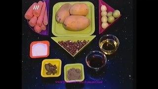 سالاد انبه و هویج