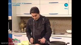 سالاد مرغ کبابی