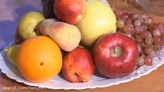 سرکه با میوه ها