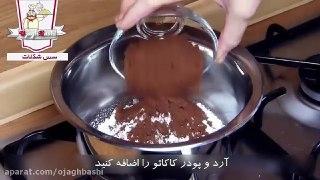 سس شکلات مناسب برای انواع دسر