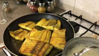 سس ماهی زعفرونی فراموش نشدنی ترین طعم ماهی