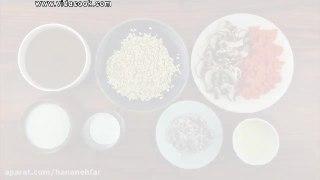 سوپ جو با شیر فوری