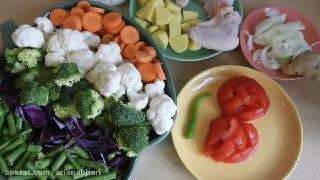 سوپ سبزیجات چربی سوز