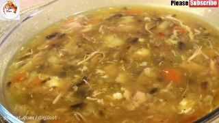 سوپ مرغ مخصوص ماه مبارک رمضان