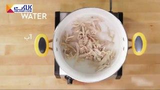 سوپ مرغ و ترتیلا