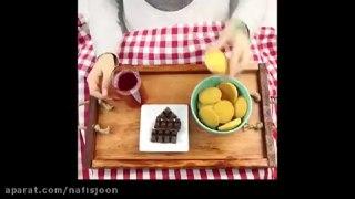 سینی غذاخوری چوبی
