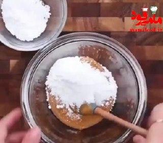 شکلات بادام زمینی