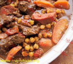 طاجین گوشت و به مراکشی