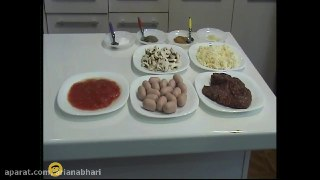 طرز لازانیا با مایکروویو آشپزی با مایکروفر
