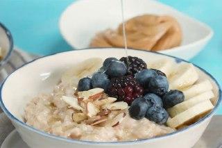 عکس اوتیمل صبحانه