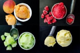 عکس  بستنی خانگی بدون ثعلب