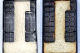 عکس تهیه کیک سابله عددی