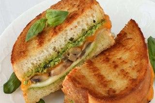 عکس ساندویچ قارچ
