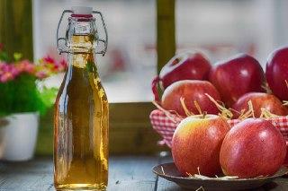 عکس سرکه سیب خونگی