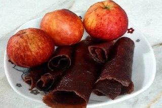 عکس  لواشک سیب