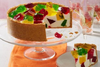 عکس چیز کیک ژله ای