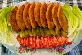 عکس کتلت سیب زمینی شیرازی بازاری