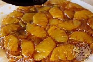عکس کیک آناناس وارونه