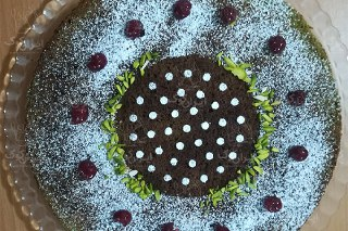عکس کیک اسفناج تزیی
