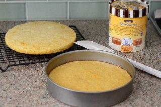 عکس کیک بستنی ساده مراحل