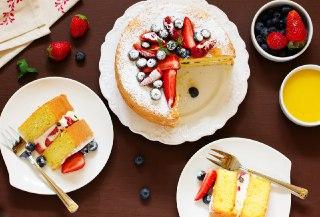 عکس کیک ژنوایی