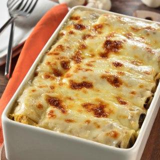 لازانیا با پنیر