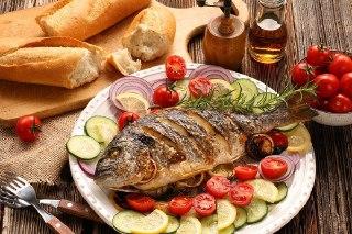 ماهی سفید شکم پر