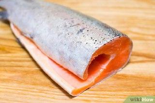 ماهی قزل آلای سرخ شده
