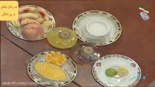 مربای هلو و پرتقال
