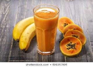 معجون پرتقال،موز و خربزه درختی