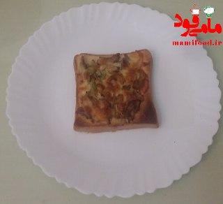 مینی پیتزا بانان تست