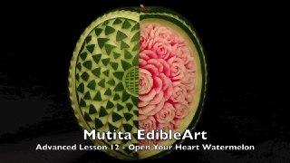 میوه آرایی روی هندوانه