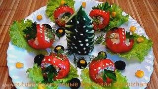 میوه آرایی سفره آرایی گوجه فرنگی