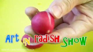 میوه آرایی طرح گل با تربچه