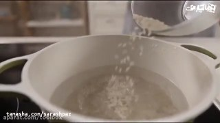 هویج پلو با قارچ