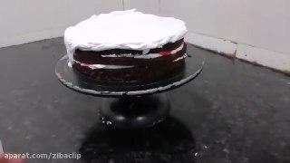 ویدیوی مدل کیک های خامه ای تازه