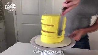 ویدیوی کیک آرایی تزیین کیک