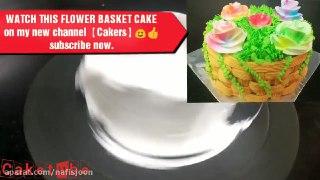 ویژه شب یلدا تزیین کیک هندوانه با ژله