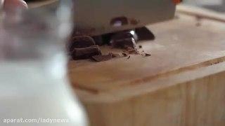 پودینگ شکلات خامه ای
