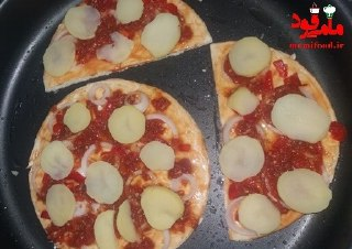 پیتزا توپیتو خانگی