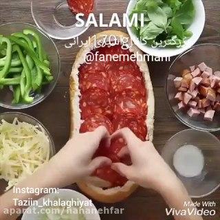 پیتزا ساندویچی