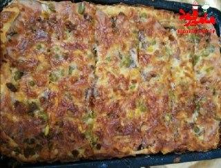 پیتزا مخلوط خونگی