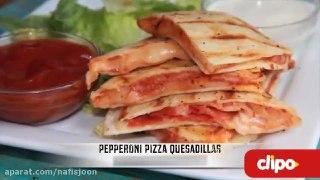پیتزا پپرونی چجوری درست میشه