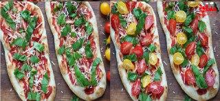 پیتزا 10 دقیقه ایی بدون خمیردر منزل: