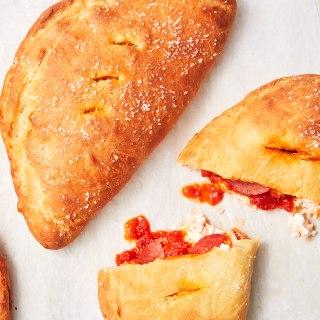 پیراشکی پیتزا خانگی