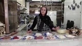 پیراشکی گوشت با خمیر جادویی در فر