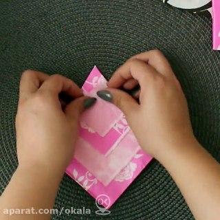 چگونه دستمال سفره را تزیین کنیم